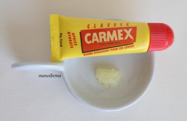 Carmex baume hydratant lèvres sèches gerçées craquelées 6