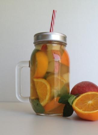 manoibema detox water bocal en verre recette casa