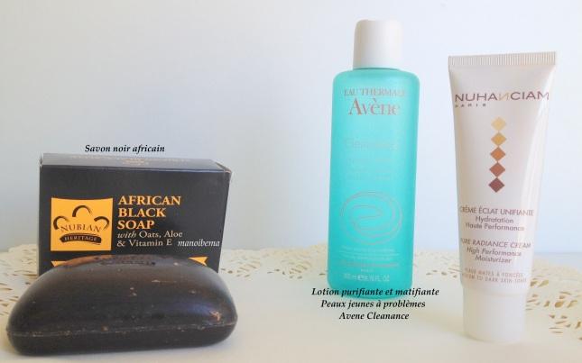 manoibema routine visage matin produits cosmétiques