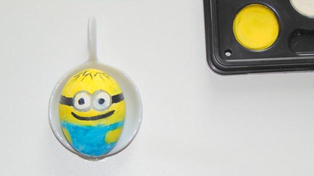 manoibema loisir creatif enfant oeuf de pâques minion