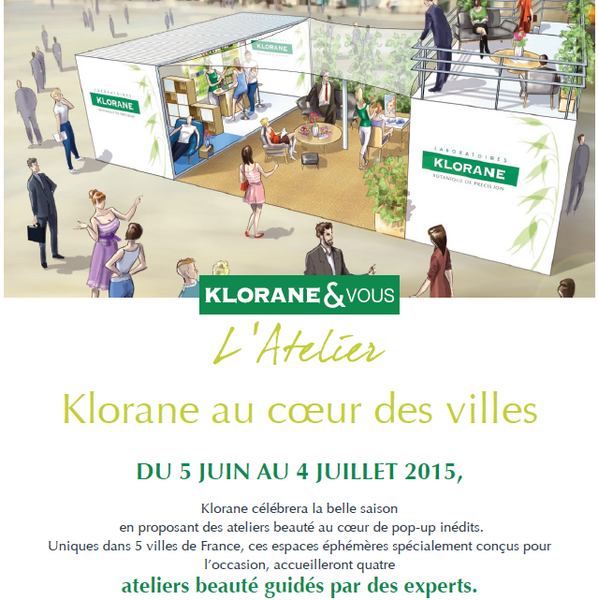 pop-up-store KLORANE-atelier-beaute-manoibema