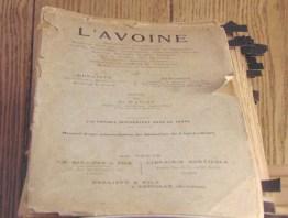 Avoine-document-ancien