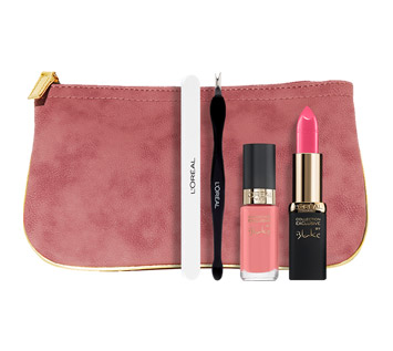 pochettes-maquillage-collection-exclusive-rose-loreal-manoibema